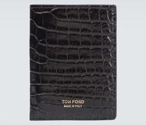 Portemonnaie T Line aus Leder