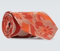 Gemusterte Krawatte aus Seide