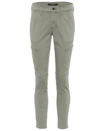 Skinny Hose Utility aus einem Baumwollgemisch