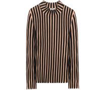Gestreifter Pullover aus einem Wollgemisch