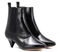 Ankle Boots Dawell aus Leder