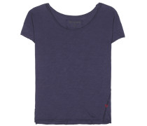 T-Shirt Boxy Crew aus Baumwolle