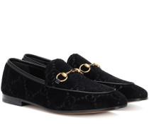 Loafers Jordaan aus Samt