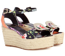 Wedge-Sandalen Corda Chips