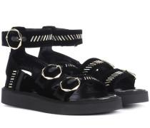 Sandalen Julia aus Samt