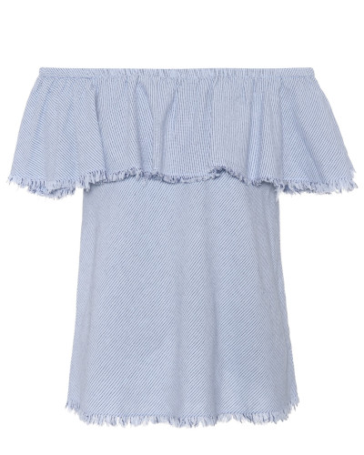 Off-Shoulder-Oberteil Paloma aus Baumwolle