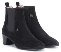 Ankle Boots Hely aus Veloursleder