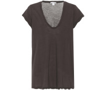 T-Shirt High Gauge aus Baumwolle