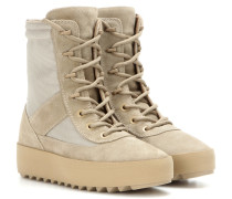 Boots Military aus Veloursleder (SEASON 3)