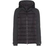 Jacke aus einem Wollgemisch mit Daunenfüllung