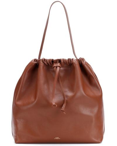 A.P.C. Damen Bucket-Bag Lena aus Leder Die Besten Preise Zu Verkaufen hO5Zmh