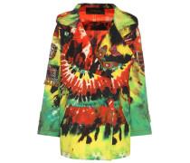 Jacke aus Baumwolle mit Batikprint
