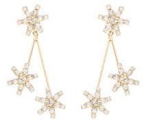 Ohrringe Star Droplet mit Kristallen