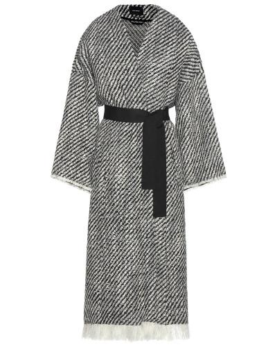 Mantel Iban aus Wolle