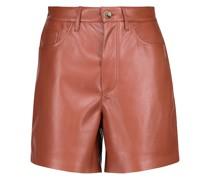 Shorts Leana aus Lederimitat