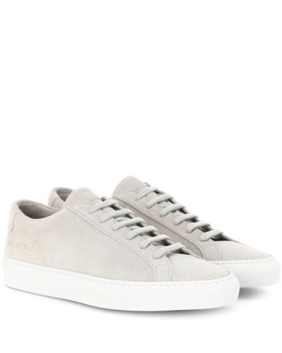 Common Projects Damen Sneakers Original Archilles aus Veloursleder