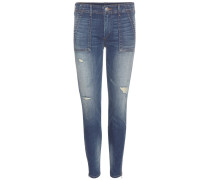 Mid-Rise Skinny Jeans Halle