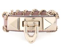 Garavani Armband Demilune aus Leder