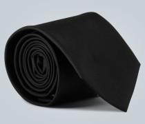 Krawatte aus Twill mit Logo
