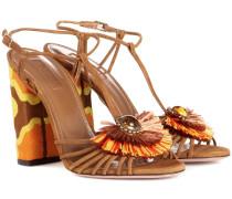 Sandalen Samba aus Veloursleder
