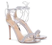 Sandalen Crystal Leomi aus Leder