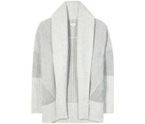 Strick-Cardigan aus Wolle und Cashmere