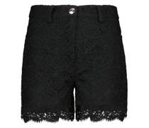 Shorts Lena aus Baumwolle mit Spitze