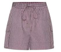 Gestreifte Shorts aus Seersucker