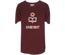 Bedrucktes T-Shirt Kolda aus Leinen