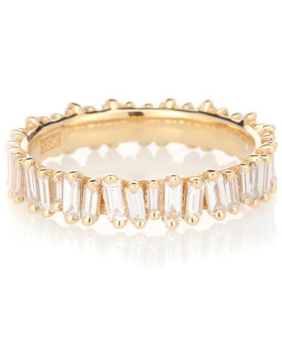 Ring Eternity aus 18kt Gelbgold mit Diamanten