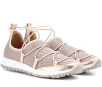Sneakers Andrea mit Metallic-Leder