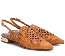 Slingback-Sandalen Gloria aus Leder
