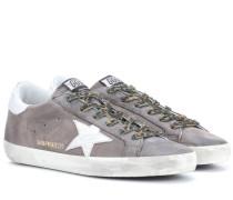 Exklusiv bei mytheresa.com – Sneakers Superstar aus Veloursleder