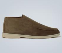Loafers Open Walk aus Veloursleder