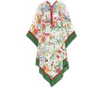 Bedrucktes Kleid aus Leinen