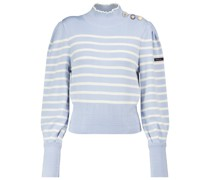 X Armor-Lux Gestreifter Pullover The Breton aus Wolle