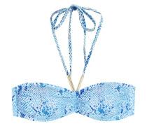 Bandeau-Bikini Australia mit Print