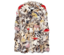 Mantel aus Fuchsfell