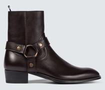 Ankle Boots Wyatt aus Leder