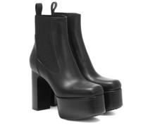 Ankle Boots Kiss aus Leder