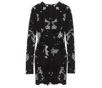 Scuba-Kleid mit Lasercut-Muster