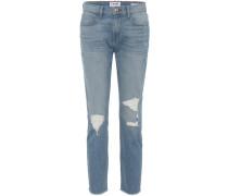 Distressed Jeans Le Boy Mr Raw Edge aus Baumwolle