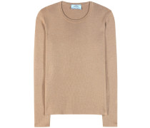 Pullover aus Cashmere und Seide