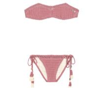 Gehäkelter Bandeau-Bikini Essential
