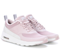 Sneakers Air Max Thea aus Leder und Samt