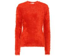 Pullover aus Fake Fur