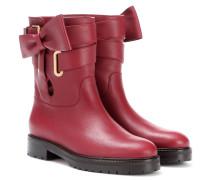 Garavani Stiefel aus Leder