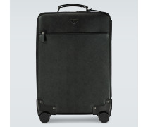 Koffer aus Saffiano-Leder