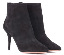 Ankle Boots Brook 85 aus Veloursleder