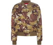 Bomberjacke Greenwood mit Camouflage-Muster